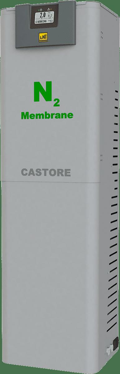 Membrane Nitrogen Gas Generator NG CASTORE PRO 120