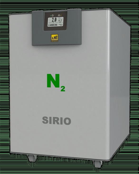 Ultra high-purity nitrogen generator Sirio