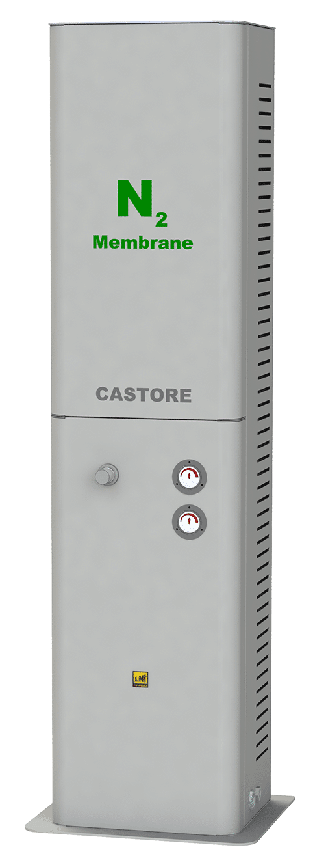 Nitrogen gas generator NG CASTORE BASIC-350