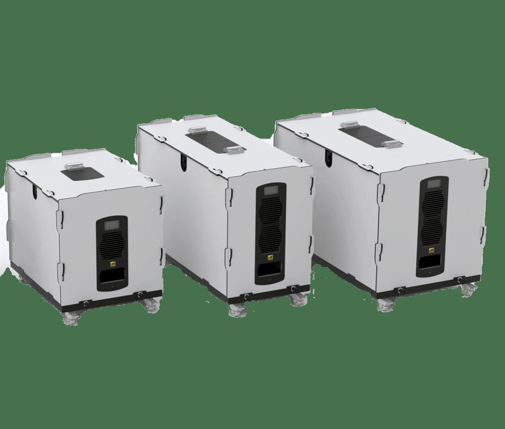 Noise enclosure for vacuum pump Silento